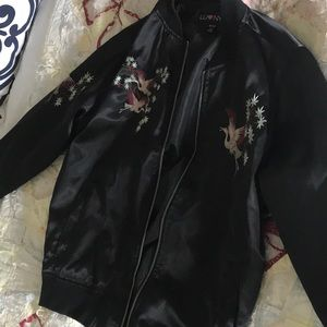 cool black jacket